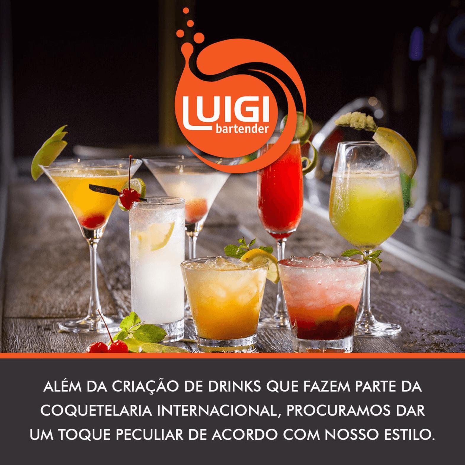 Criação de Drink em São Paulo